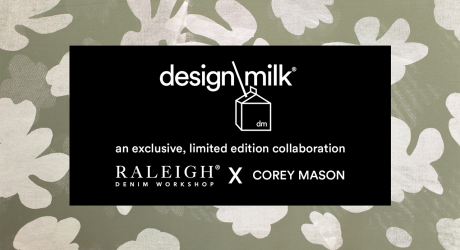 Design Milk Exclusive: Raleigh Denim Workshop x Corey Mason Limited Edition Collab