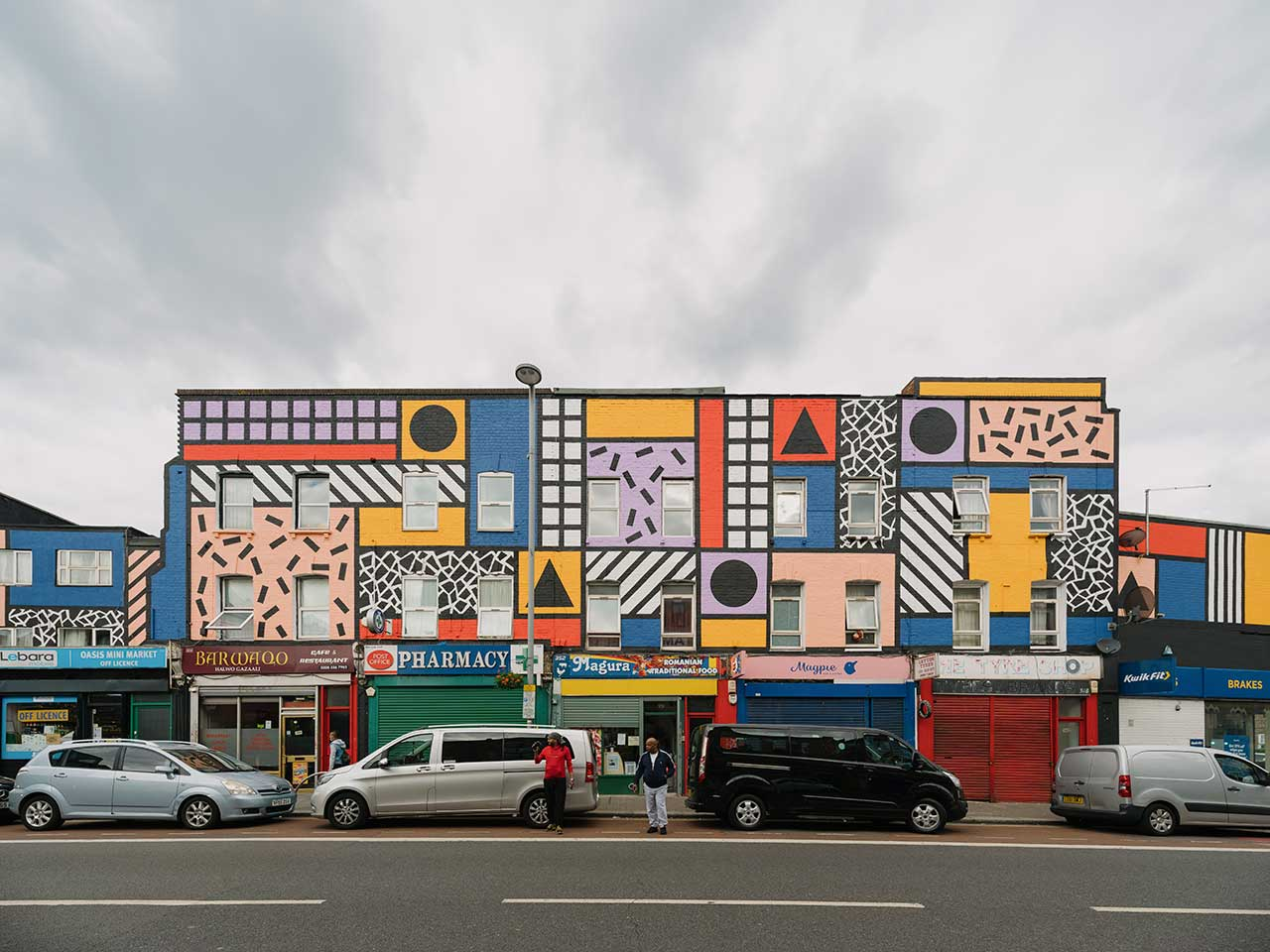 Camille Walala Brings Her Vibrant Aesthetic To East London High Street