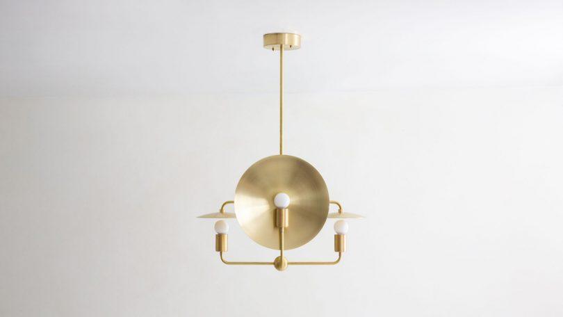 The Minimalist Orbit Chandelier by Workstead