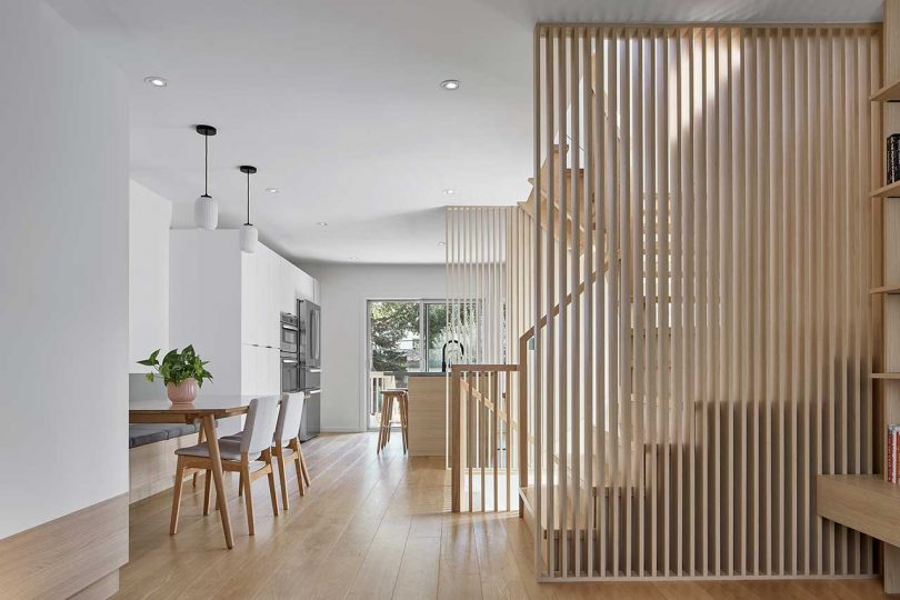 A Minimalist Home in Toronto Designed With a Focus on Natural Materials