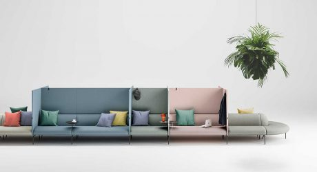 LucidiPevere Designed the Modular Couchette Sofa With 38 Interchangeable Elements