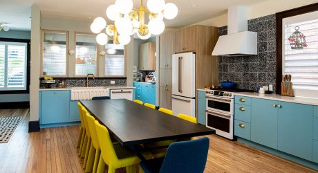 A Colorful Columbus Home That Combines a Modern + Eclectic Aesthetic