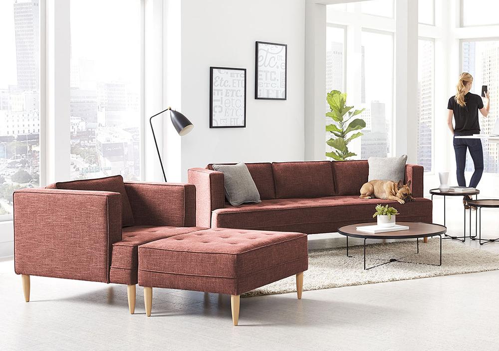 sofa, armchair