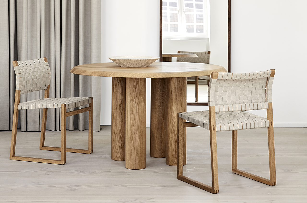Old + New Danish Design Come Together in the Islets Table Collection