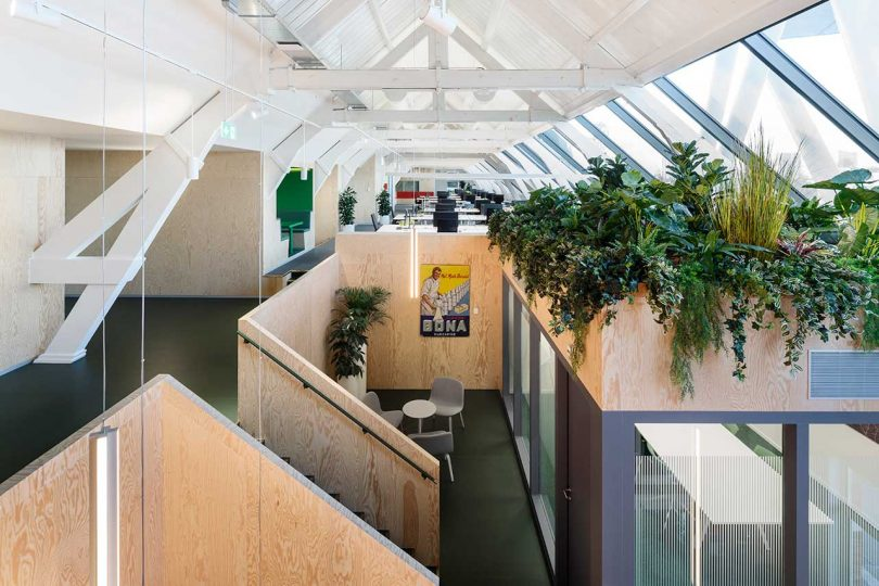 JDWA Transforms an Empty Attic Into a Contemporary Workspace for Upfield