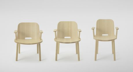 Tako + Fugu Chairs Find Inspiration in Innovation + Tradition