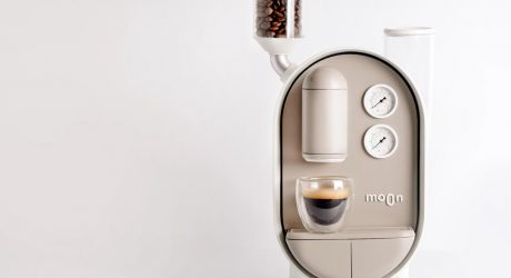 The Moon Coffee Maker Drips With Caffeine and Cuteness