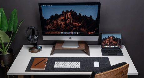 Oakywood Adds Warmth to Work From Home Setups
