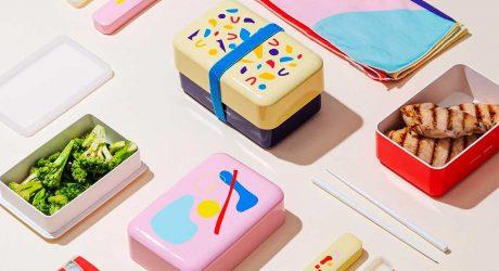 Poketo x Takenaka Team up To Create Colorful Bento Boxes