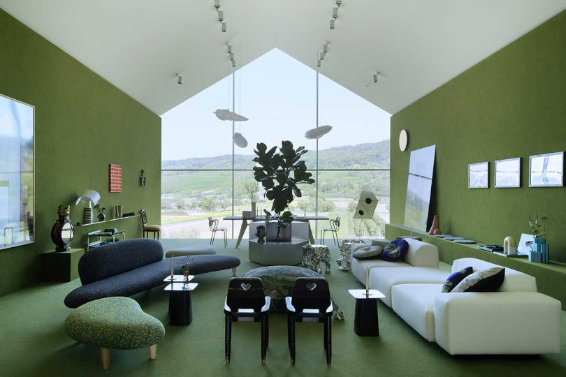 Charlap Hyman & Herrero Reimagines the VitraHaus Loft Into a Lush Interior