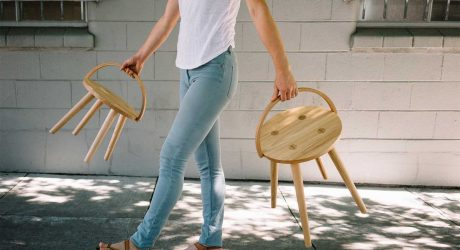 Functionality Shines in the Bucket Stool Collection by Yvonne Mouser