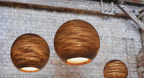 Graypants' Scraplights Transforms Cardboard into Elegant Lighting