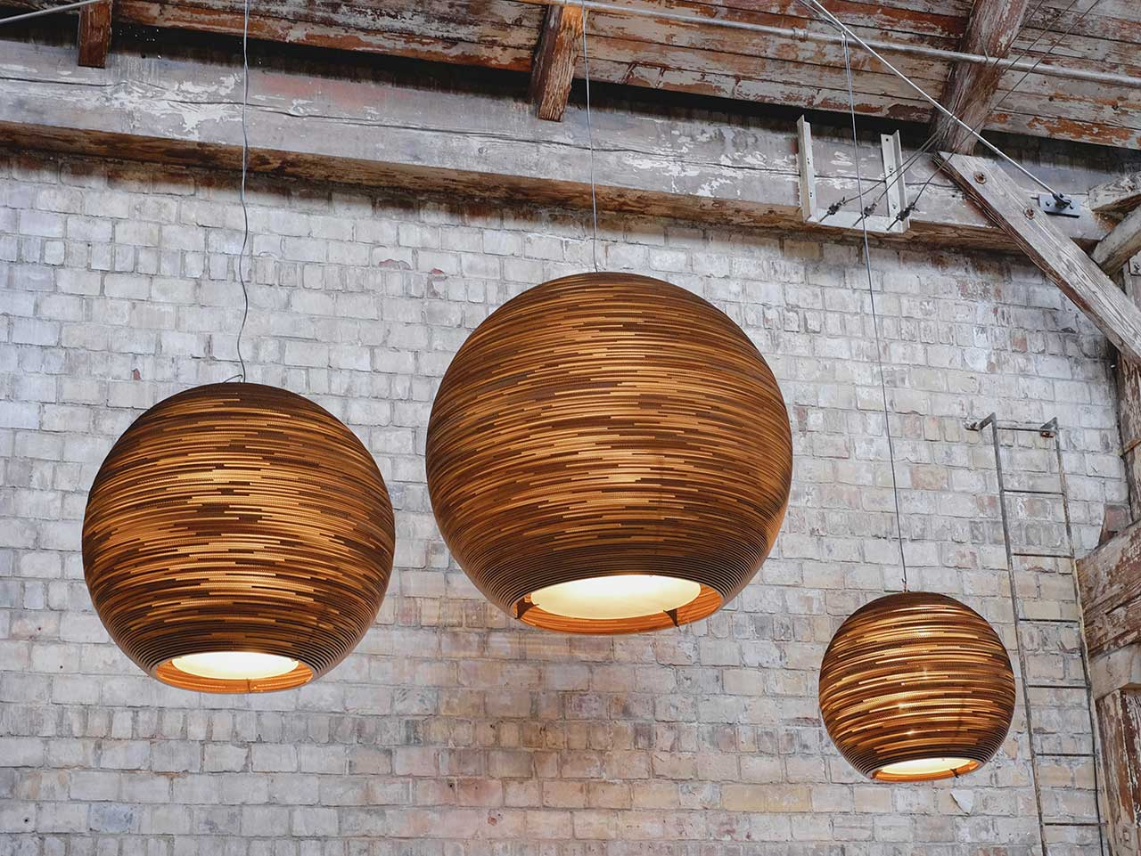 Graypants' Scraplights Transforms Cardboard into Elegant Lighting