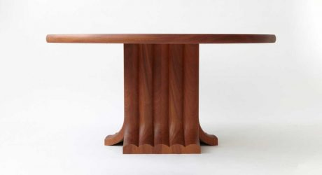 The Minimalist Bole Dining Table by Vonnegut/Kraft