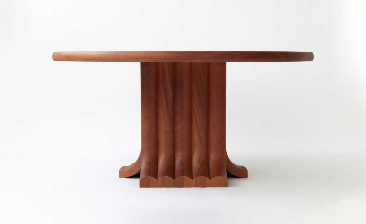 The Minimalist Bole Dining Table by Vonnegut/Kraft