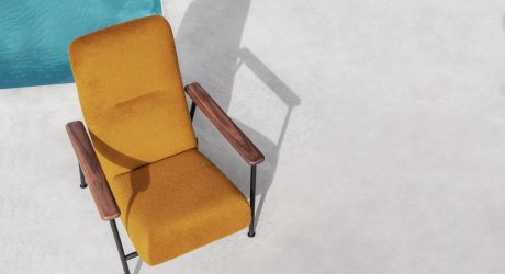 The Minimalist Jump Armchair by Massproductions