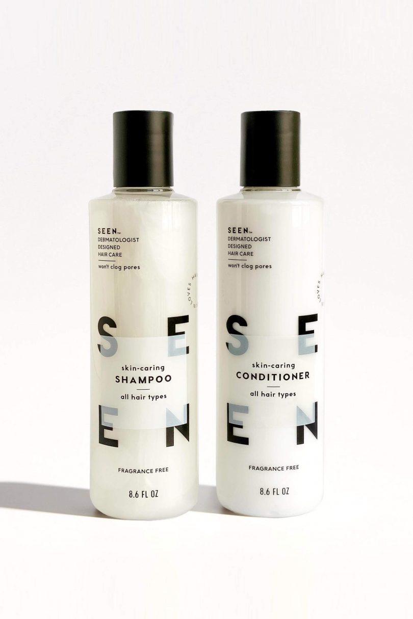 Image of seen hair fragrance free shampoo conditioner essential bundle design milk shop 810x1215