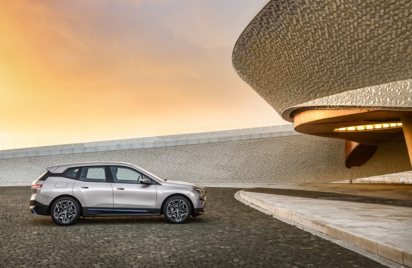 The BMW iX Sets a Route Toward an Electrified Future