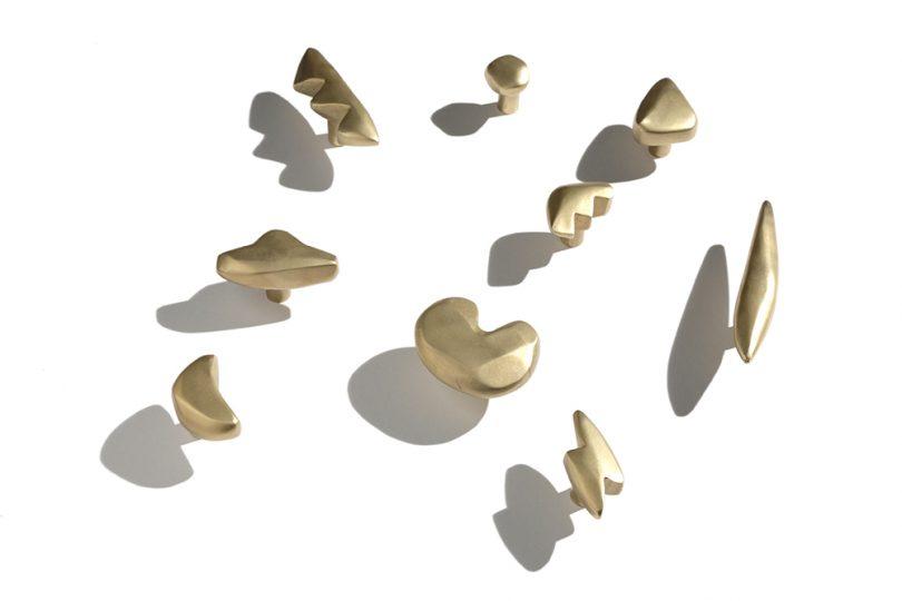 brass drawer pulls