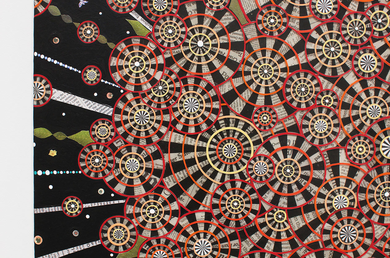 "Media ""Buzz"": New Paintings by Fred Tomaselli"