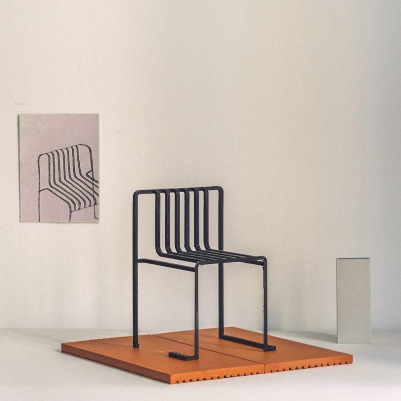 miniature chair moder