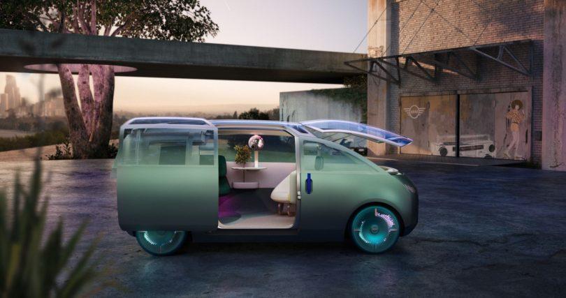The MINI Vision Urbanaut?s Creative Use of Space