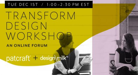 Join Us 12/1 for an In-Depth Look: What Drives Design Now + In the Future