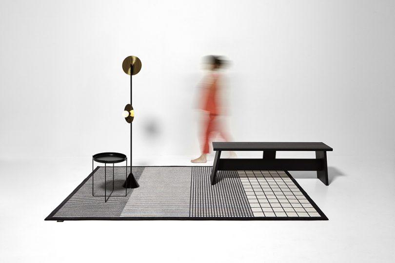 rug in room