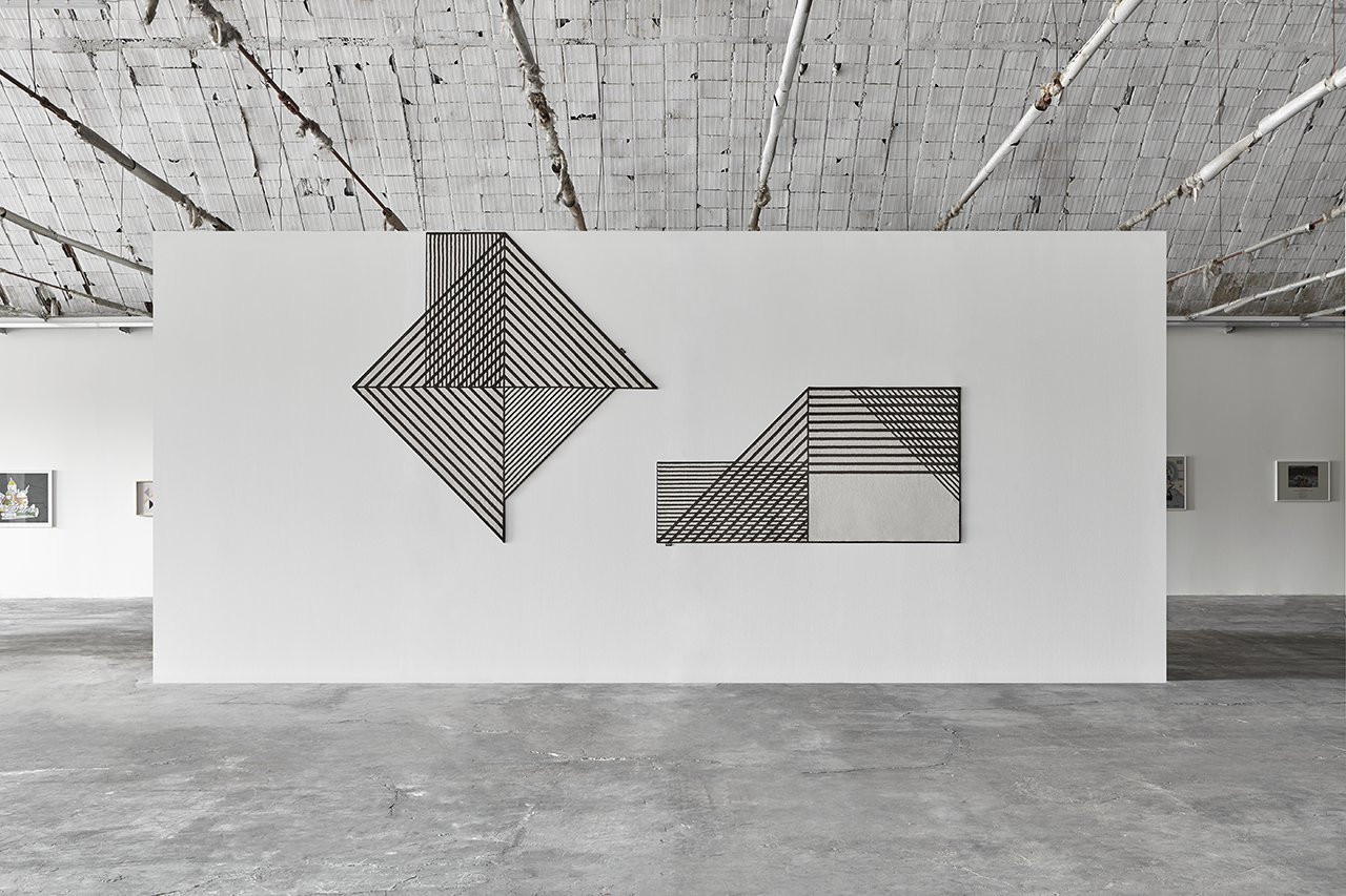 The Tramato Carpet Collection Embraces Graphic Black + White