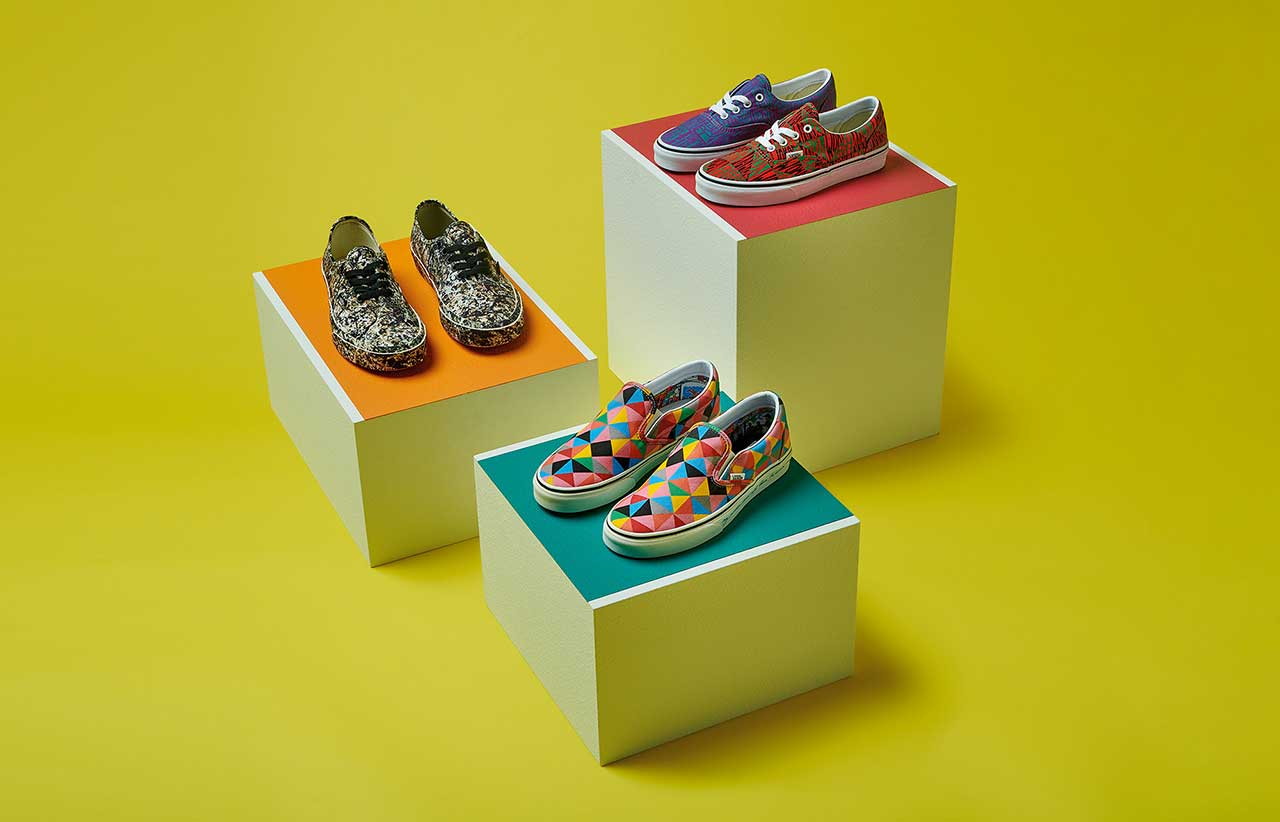 Vans + MoMA Drop 2nd Artistic Collaboration of Footwear and Apparel