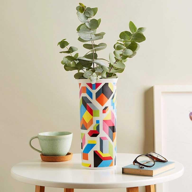 Image of vases carl cashman social distancing limited edition fine bone china vase design milk shop 22823506477247 2000x