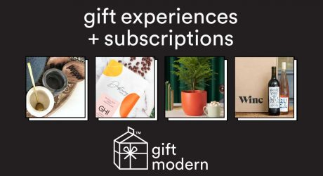 2020 Gift Guide: Experiences + Subscriptions