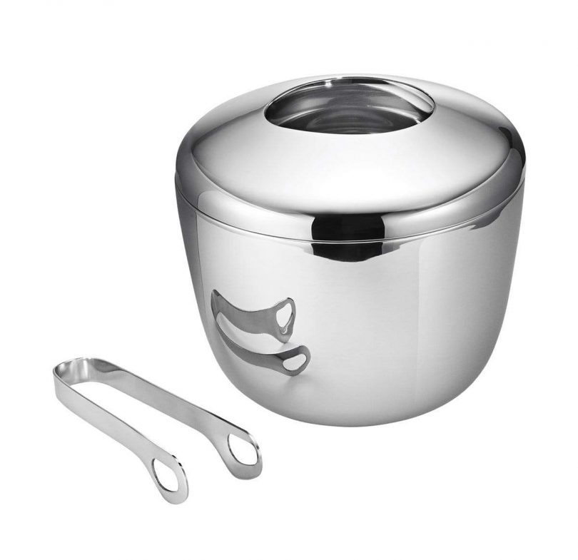 ice bucket and tongs