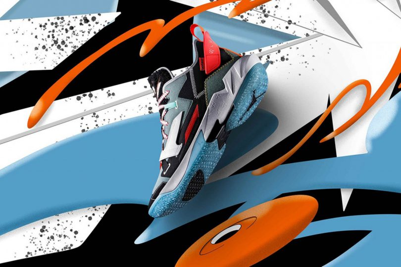 A Colorful Collaboration: FACETASM x Jordan Why Not? Zer0.4