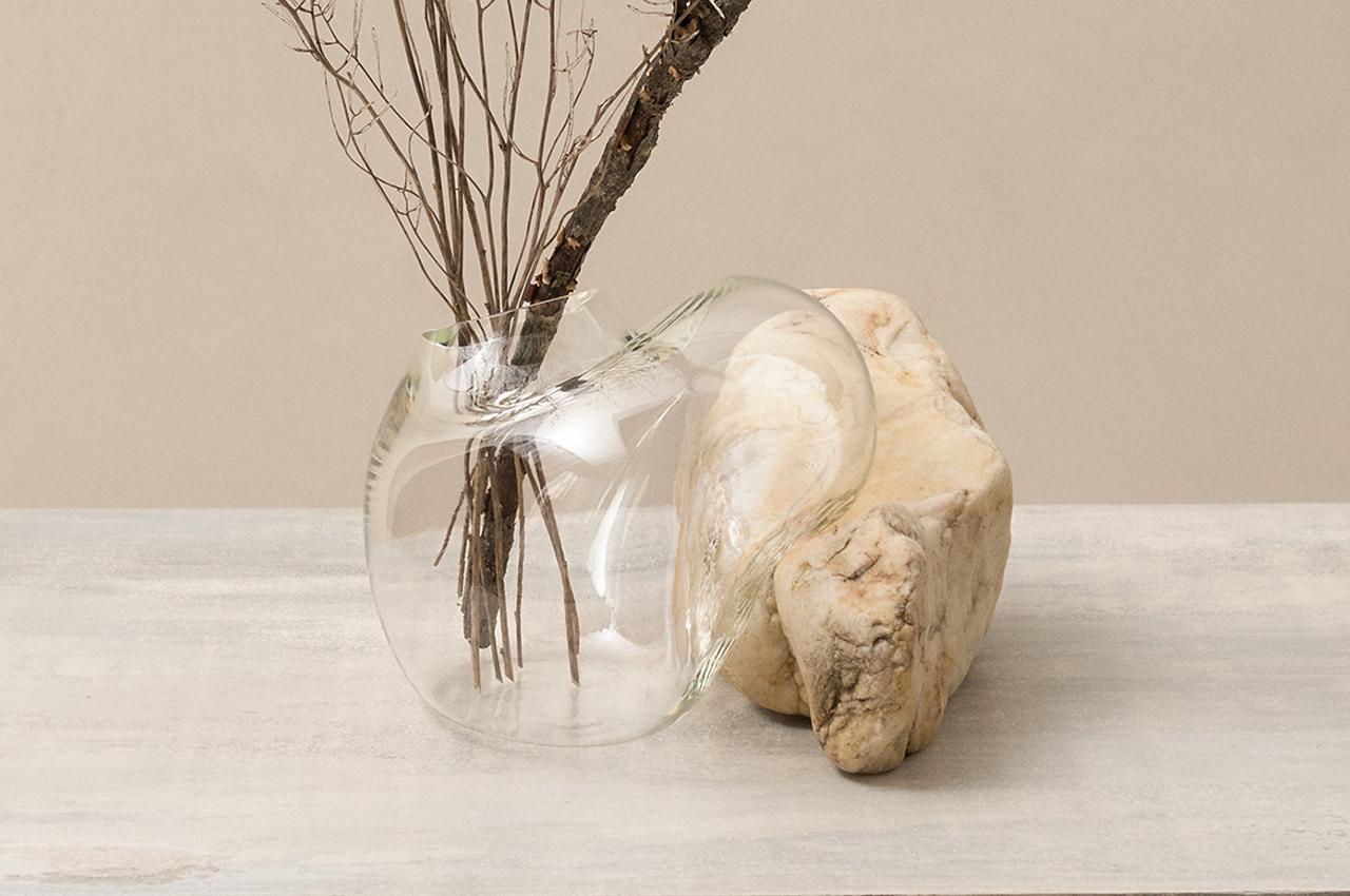 Laetitia Jacquetton's Powerful Organic Glass + Rock Forms