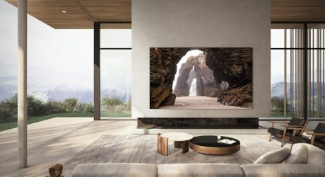"110"" Samsung MicroLED Is All Screen by Design"