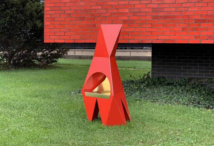 The Prism Chiminea Is Ready for You To Spend Winter Outdoors