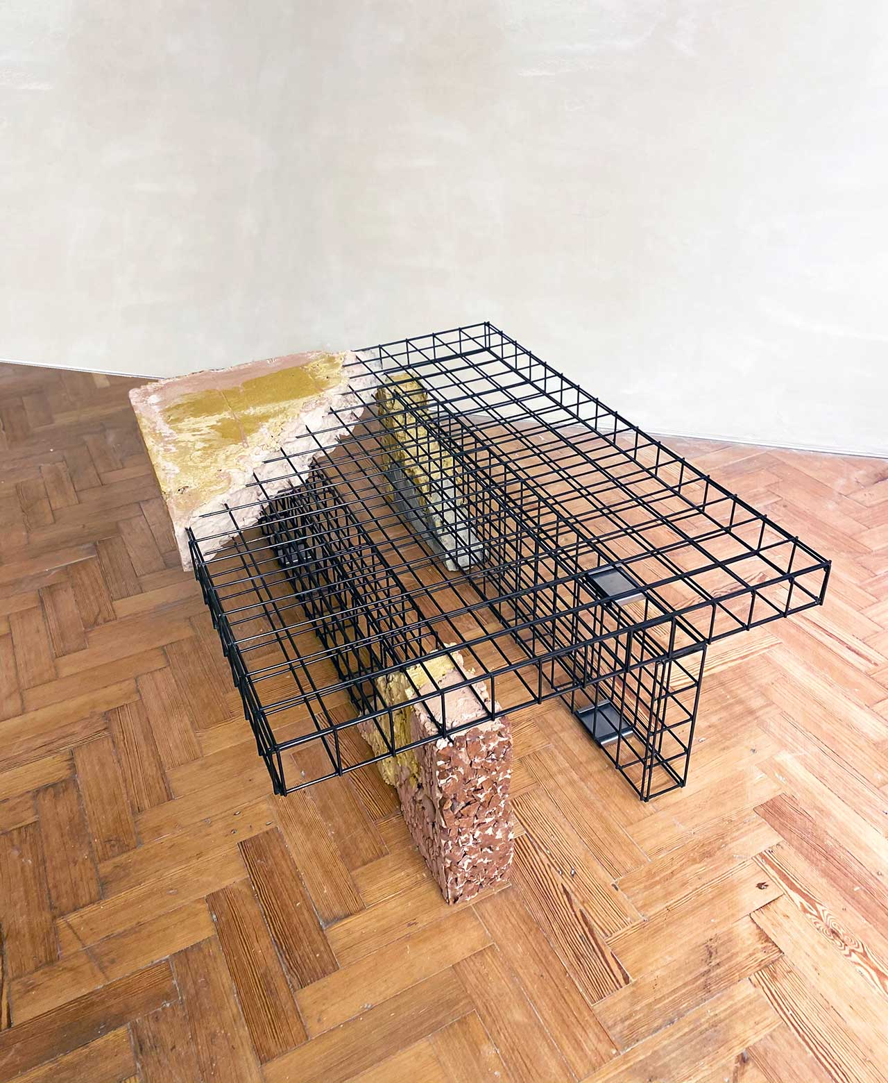 wire crates and construction materials