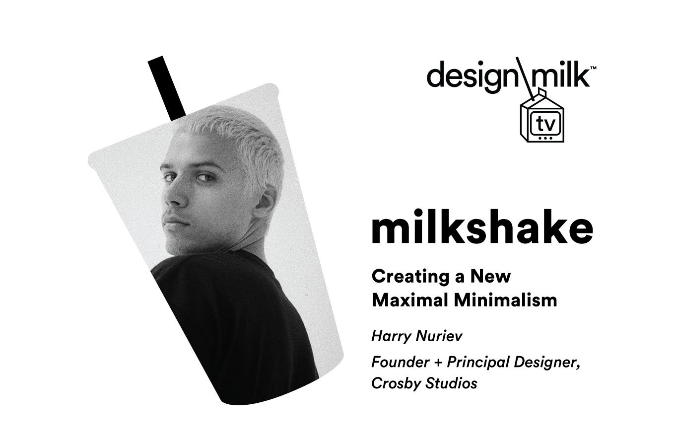 Creating a New Maximal Minimalism With Harry Nuriev