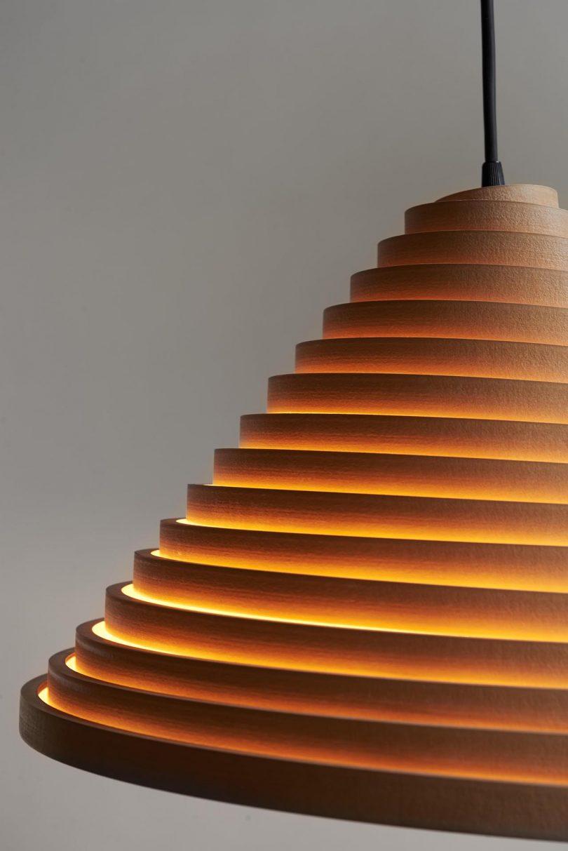 light fixture detail