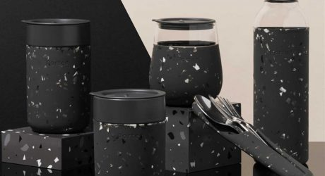 Meet the Newest Addition to W&P: Charcoal Terrazzo
