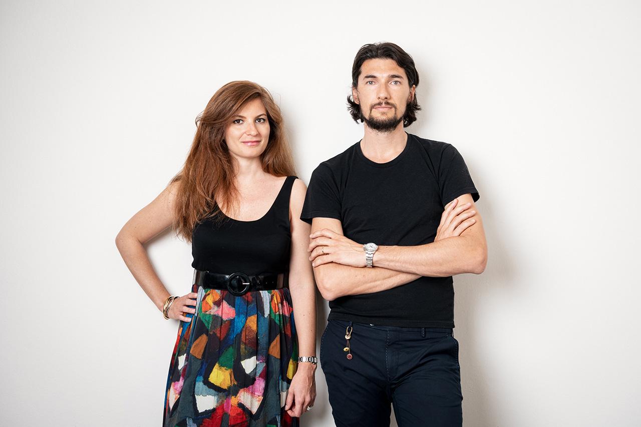 Virginia Valentini and Francesco Breganze de Capnist