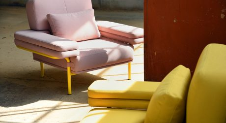 Adrenalina's Postmodern LEO Sofa Collection Goes Green