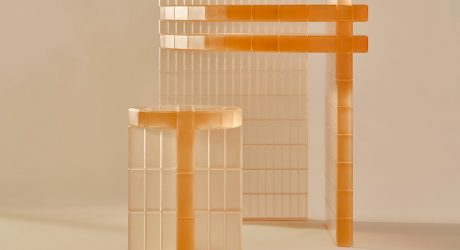 Laurids Gallée's Light-Filled Metropolis Desk + Stool