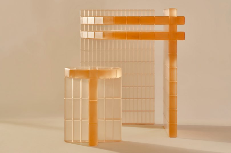 Laurids Gallée's Light-Filled Metropolis Desk + Stool