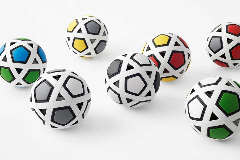 Nendo Launches DIY Non-Inflatable Soccer Ball for Kids in Impoverished Areas