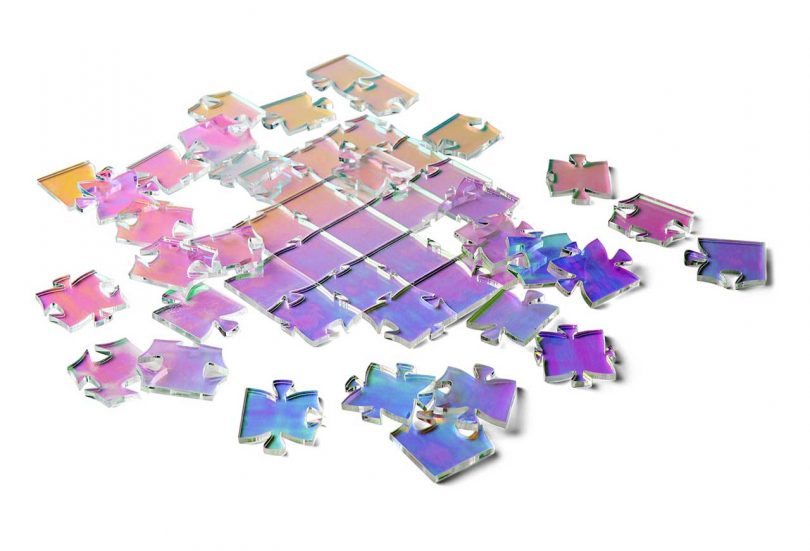 New Puzzles 2021 2 Waves Puzzle Iridescent Waves