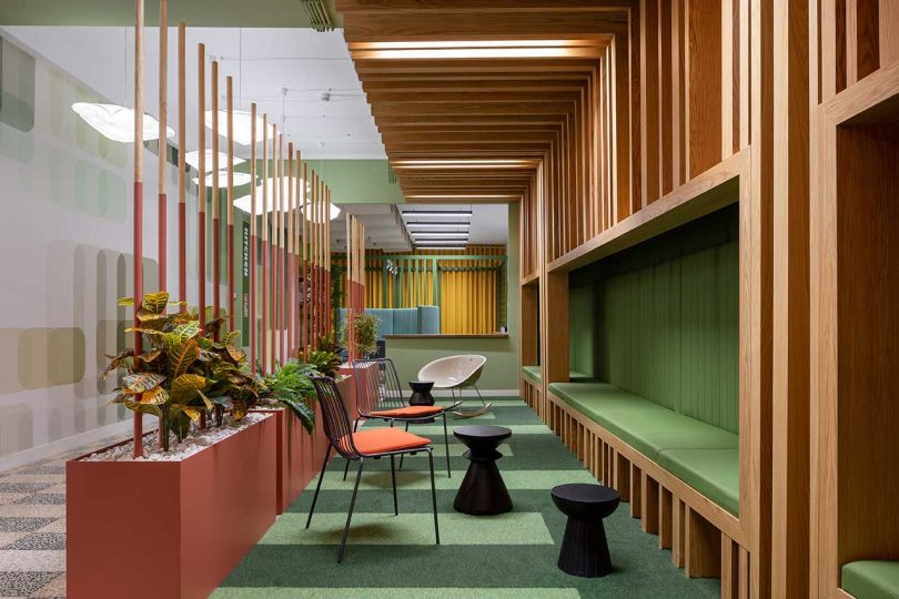 RB Pharma Gets a New, Bright + Colorful Office Despite a Lack of Windows