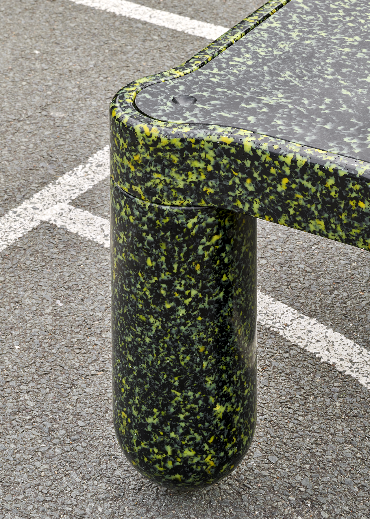 recycled furniture detail
