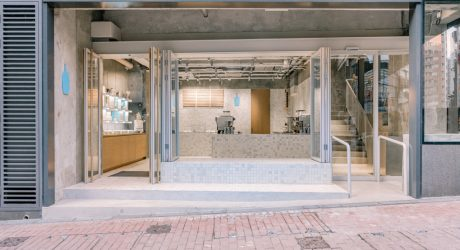 Blue Bottle Coffee Hong Kong Central by Schemata Architects